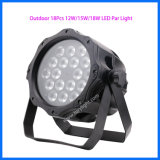 O evento DJ do diodo emissor de luz IP65 PAR a luz de 18PCS*12W Dacing