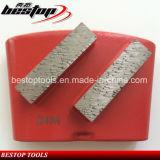 Плита металла диаманта меля для точильщика конкретного пола полируя