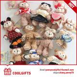 Brinquedo de pelúcia com presente para crianças, Brinquedos recheados de ursinhos de pelúcia personalizados
