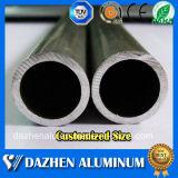 Profil en aluminium personnalisé d'extrusion personnalisé par alliage rond du tube 6063 de pipe de taille