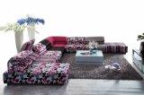Nuovo sofà domestico moderno di combinazione del tessuto per il salone (HC1029A)