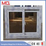 Fenêtre coulissante en vinyle réfléchissant en verre pour un temps chaud