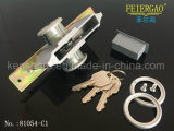 81054-C1 Porta de alumínio Porta-ferros de bloqueio de porta com chave