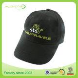 Kundenspezifische Qualitäts-schwarzer Hut-und Stickerei-Baseballmützen