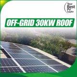 기업을%s 건전지 변환장치를 가진 격자 태양 에너지 시스템 떨어져 30kVA