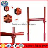 Andamio rápido tubular chino de la etapa de Selflock para la construcción de edificios