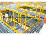 Barandilla de FRP, barandilla, barandilla de la fibra de vidrio y sistema del cercado