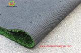 Grama artificial fibrilada para a corte de tênis com cores verdes ou azuis vermelhas