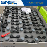 48V/630ah価格の中国の品質2.5tの電気フォークリフト