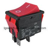 La saldatrice elettrica 25A IP65 impermeabilizza l'interruttore di attuatore di spinta