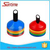 Cône en plastique mou de disque de gisement de matériel de formation, positionnements de cône de disque, cônes de disque d'agilité