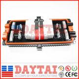 6 Inlet / Outlet Fermeture d'épissure en fibre optique 12 ~ 288 (fermeture d'épissure DT-FOSC-H8005)