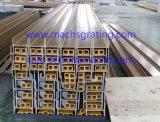 長い耐用年数FT52のガラス繊維の平らな管のタイプの物質的なPultrudedのプロフィール