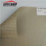 1.8X5.1m, 130gsm, 250D MALHA DE PVC com olhal de Folhas de tecido de toldo