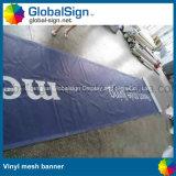 上海Globalsignの屋外の塀の旗、ビニールの網の旗(M99N)