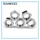 Noix Hex de l'acier inoxydable A2 A4 DIN934 Unc Unf de la norme ANSI B18.2.2