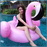 Flotador rosado inflable de la piscina del flamenco de la venta caliente al por mayor