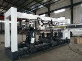 Máquina Drilling do Woodwork da Seis-Fileira da fabricação da madeira compensada da construção