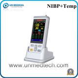 De hogere Monitor van de Bloeddruk van het Wapen Met Temperaturen
