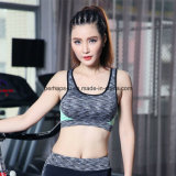 Mujer Quick-Drying transpirable de chaleco a prueba de golpes Yoga sostén deportivo