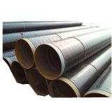 PE Oleoduto revestido anti corrosão do tubo de aço em espiral