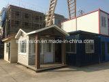 휴일 Llife 동안 주문을 받아서 만들어진 이동할 수 있는 Prefabricated 또는 조립식 집 또는 별장