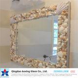 Espejo de plata de flotación/aluminio Espejo para la construcción de espejo