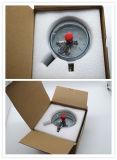 Manometro elettrico resistente ai colpi del contatto fatto in Cina