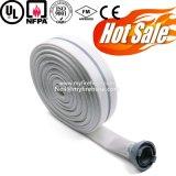 Doppeltes Umhüllungen-Segeltuch-Feuer-Hydrant-Schlauch-Material ist Nitril-Gummi