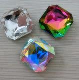 Quadratische Kristallsteinschmucksachen bördeln Dz4675