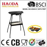 Barbecue Grill met 4 been-Feet in Folded