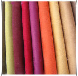 Tessuto della pelle scamosciata per % del tessuto del poliestere di /100 del sofà per il sofà