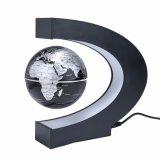 Correspondencia de mundo flotante magnética del globo del globo anti de la gravedad de la levitación con la decoración ligera del escritorio de Ministerio del Interior del regalo de los niños del LED