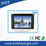 Universal Two DIN Car DVD Player com tela de 6,2 polegadas