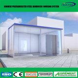 강철 구조물 프레임의 Prefabricated/조립식 모듈 건물 콘테이너 집