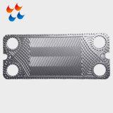 Piatto smontabile di accoppiamenti d'acciaio ad alta resistenza di scambio di calore