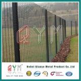 Revestimiento en polvo 358 Anti subir la malla de alambre cercas de alta seguridad