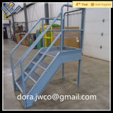 中国の専門の製造の外部によって電流を通される鋼鉄ステアケース