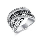 OEM/ODM Ring van de Vinger van de Manier van de Juwelen van de Gift van de hoogste Kwaliteit de Promotie Imitatie