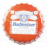 Engraçado Plain Metal Tin Beer Sign Bottle Cap para Bar