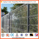 Cerco residencial de aço decorativo galvanizado e revestido do metal do cerco de segurança do local da cerca