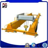 Pont roulant de double poutre modèle de main gauche avec l'élévateur électrique