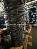 Tubo flessibile per tutti gli usi della fibra di tessile del tessuto del filato della treccia dell'aria dell'acqua di consegna variopinta regolare dell'olio