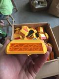 عال - درجة حرارة مسيكة أصفر بلاستيكيّة طريق دعامة