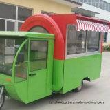 Carro móvil del alimento de la mini cocina eléctrica china para la venta