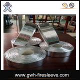 Tela da folha de alumínio com prendedor do Gancho-e-Laço