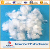 Faser des Microfiber Einzelheizfaden-Polypropylen-pp. für konkrete Verstärkung