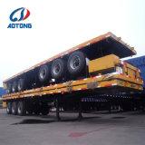 Lage Prijs 3 Semi Aanhangwagen van de Container van de As Flatbed voor Verkoop