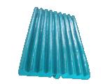 Örtlich festgelegte Kiefer-Platten und bewegliche Kiefer-Platten für Kiefer-Zerkleinerungsmaschine