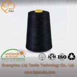 Hilo de coser 100% de la materia textil del filamento del poliester del uso de la tela